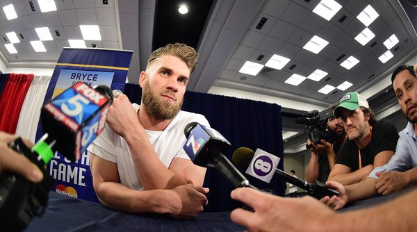 Bryce+Harper+Star+Media+Availability+uFQCKi3ltjxl