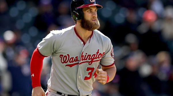 Harper homers in 11-run 7th, Turner, Nats rout Rockies 16-5