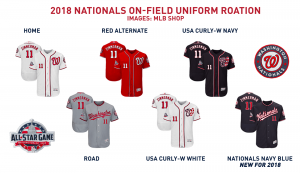 An Exploration of the Nationals  2018 Uniforms – The Nats Blog 15a4898ca